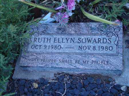 SOWARDS, RUTH ELLYN - Conejos County, Colorado | RUTH ELLYN SOWARDS - Colorado Gravestone Photos
