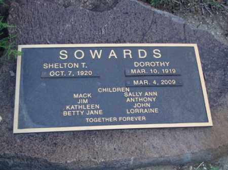 SOWARDS, SHELTON T - Conejos County, Colorado | SHELTON T SOWARDS - Colorado Gravestone Photos