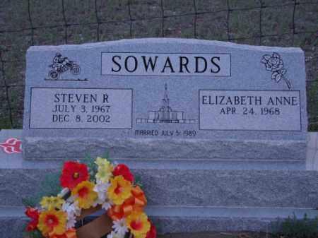 SOWARDS, STEVEN R - Conejos County, Colorado | STEVEN R SOWARDS - Colorado Gravestone Photos
