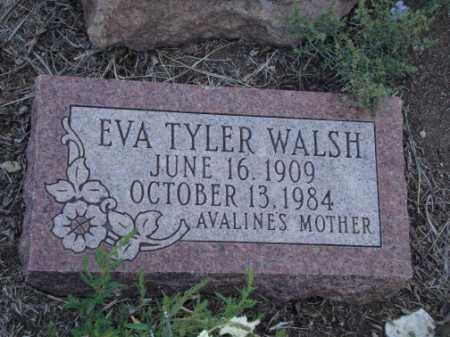 TYLER WALSH, EVA ALICE - Conejos County, Colorado | EVA ALICE TYLER WALSH - Colorado Gravestone Photos