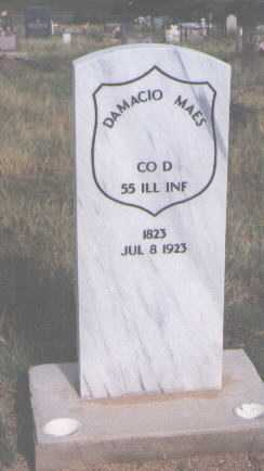 MAES, DAMACIO - Costilla County, Colorado | DAMACIO MAES - Colorado Gravestone Photos