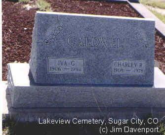 CALDWELL, CHARLIE R. - Crowley County, Colorado | CHARLIE R. CALDWELL - Colorado Gravestone Photos