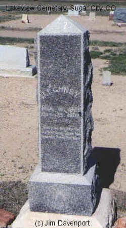 GUNBY, J. T. - Crowley County, Colorado | J. T. GUNBY - Colorado Gravestone Photos