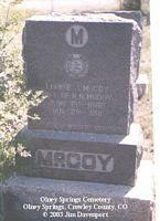 MCCOY, LOUISE J. - Crowley County, Colorado | LOUISE J. MCCOY - Colorado Gravestone Photos