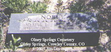 NOBLE, RALPH L. - Crowley County, Colorado | RALPH L. NOBLE - Colorado Gravestone Photos