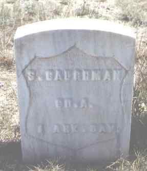 CAUGHMAN, S. - Custer County, Colorado   S. CAUGHMAN - Colorado Gravestone Photos