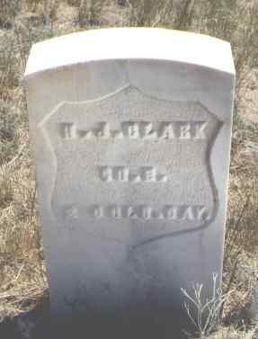 CLARK, H. J. - Custer County, Colorado | H. J. CLARK - Colorado Gravestone Photos
