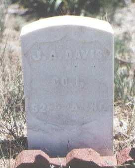 DAVIS, J. A. - Custer County, Colorado   J. A. DAVIS - Colorado Gravestone Photos