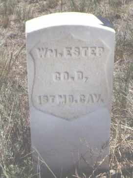 ESTER, WM. - Custer County, Colorado | WM. ESTER - Colorado Gravestone Photos