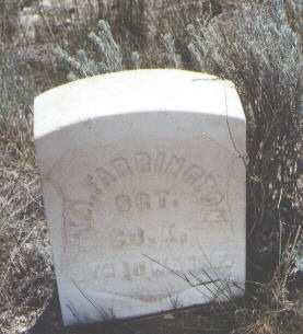 FARRINGTON, T. A. - Custer County, Colorado   T. A. FARRINGTON - Colorado Gravestone Photos