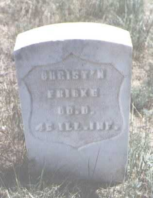 FRICKE, CHRIST'N - Custer County, Colorado   CHRIST'N FRICKE - Colorado Gravestone Photos
