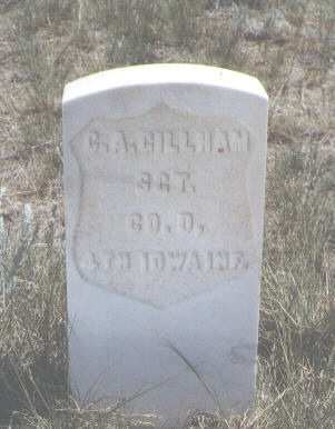 GILLHAM, C. A. - Custer County, Colorado | C. A. GILLHAM - Colorado Gravestone Photos