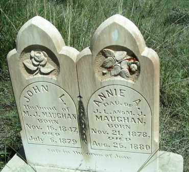 MAUGHAN, JOHN - Custer County, Colorado | JOHN MAUGHAN - Colorado Gravestone Photos