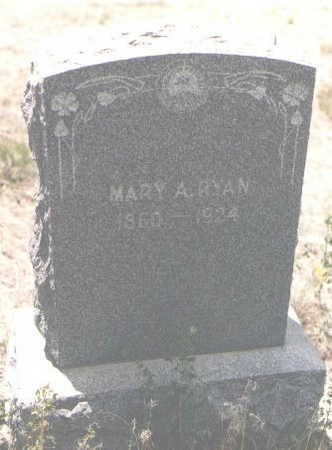 RYAN, MARY A. - Custer County, Colorado   MARY A. RYAN - Colorado Gravestone Photos