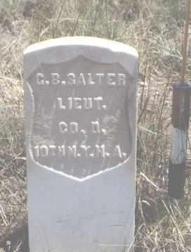 SALTER, G. B. - Custer County, Colorado | G. B. SALTER - Colorado Gravestone Photos