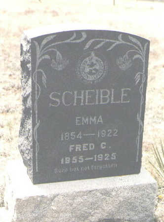 SCHEIBLE, FRED C. - Custer County, Colorado | FRED C. SCHEIBLE - Colorado Gravestone Photos