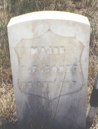 SCOTT, E. F. - Custer County, Colorado | E. F. SCOTT - Colorado Gravestone Photos