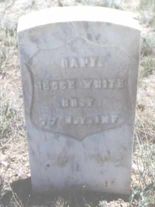 WHITE, JESSE - Custer County, Colorado | JESSE WHITE - Colorado Gravestone Photos