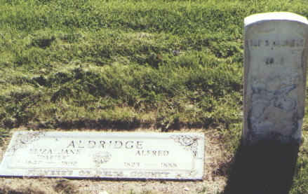 ALDRIDGE, ELIZA JANE - Delta County, Colorado | ELIZA JANE ALDRIDGE - Colorado Gravestone Photos