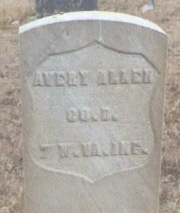 ALLEN, AVERY - Delta County, Colorado   AVERY ALLEN - Colorado Gravestone Photos