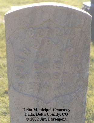 BARKER, JOHN J. - Delta County, Colorado | JOHN J. BARKER - Colorado Gravestone Photos