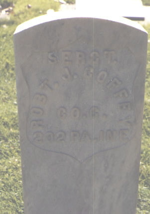 COFFEY, ROB'T J. - Delta County, Colorado | ROB'T J. COFFEY - Colorado Gravestone Photos