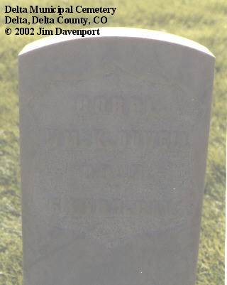 COWELL, WM K. - Delta County, Colorado | WM K. COWELL - Colorado Gravestone Photos