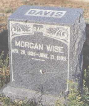 DAVIS, MORGAN WISE - Delta County, Colorado | MORGAN WISE DAVIS - Colorado Gravestone Photos