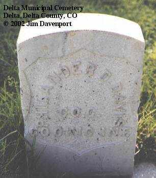 DAVIS, PHILANDER D. - Delta County, Colorado | PHILANDER D. DAVIS - Colorado Gravestone Photos