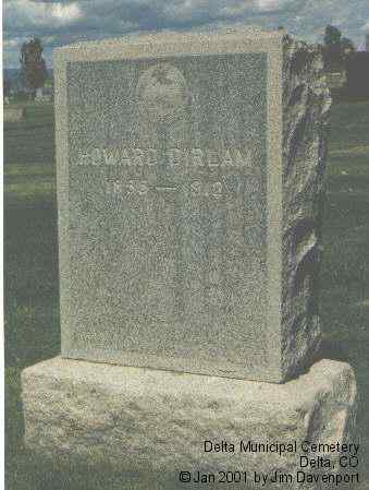 DIRLAM, HOWARD - Delta County, Colorado | HOWARD DIRLAM - Colorado Gravestone Photos