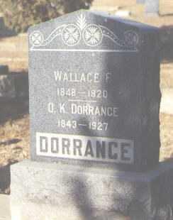 DORRANCE, O.K. - Delta County, Colorado | O.K. DORRANCE - Colorado Gravestone Photos