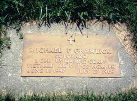GRAMLICK, MICHAEL - Delta County, Colorado | MICHAEL GRAMLICK - Colorado Gravestone Photos