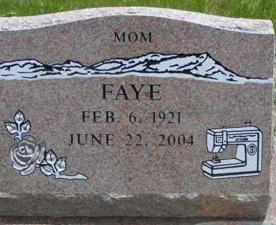 FRAZIER GRAY, FAYE - Delta County, Colorado | FAYE FRAZIER GRAY - Colorado Gravestone Photos
