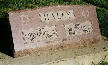 HALEY, CONSTANCE M. - Delta County, Colorado | CONSTANCE M. HALEY - Colorado Gravestone Photos