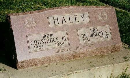 HALEY, DR. WALDO E. - Delta County, Colorado | DR. WALDO E. HALEY - Colorado Gravestone Photos
