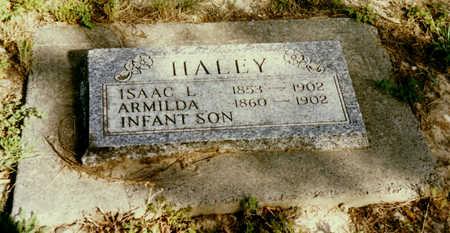 HALEY, INFANT SON - Delta County, Colorado   INFANT SON HALEY - Colorado Gravestone Photos
