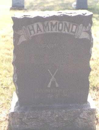 HAMMOND, HENRY J. - Delta County, Colorado | HENRY J. HAMMOND - Colorado Gravestone Photos