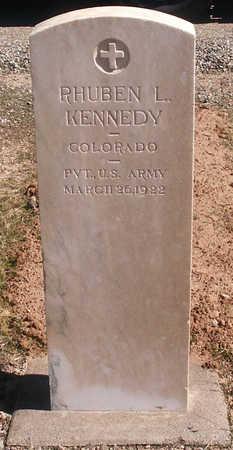 KENNEDY, RHUBEN L. - Delta County, Colorado | RHUBEN L. KENNEDY - Colorado Gravestone Photos