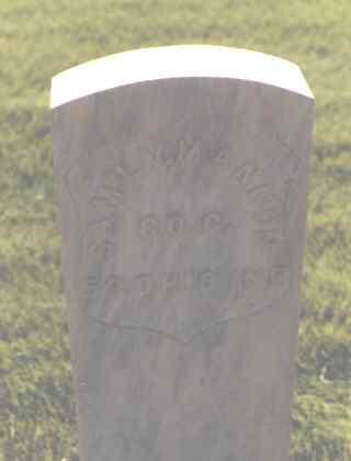 MANNON, SAM'L V. - Delta County, Colorado | SAM'L V. MANNON - Colorado Gravestone Photos