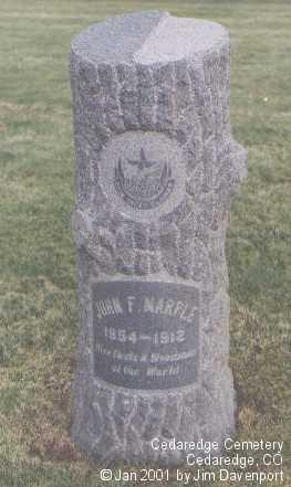 MARPLE, JOHN F. - Delta County, Colorado | JOHN F. MARPLE - Colorado Gravestone Photos