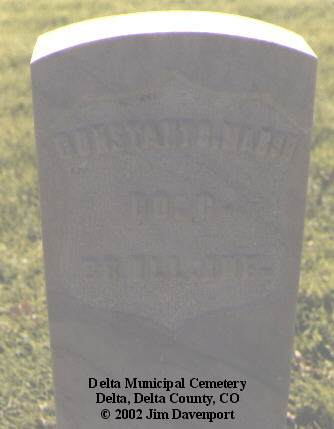 MARSH, CONSTANT C. - Delta County, Colorado | CONSTANT C. MARSH - Colorado Gravestone Photos