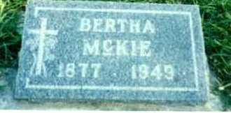 O'ROURKE MCKIE, BERTHA - Delta County, Colorado | BERTHA O'ROURKE MCKIE - Colorado Gravestone Photos