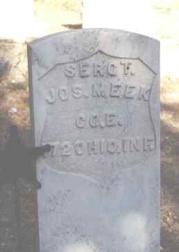 MEEK, JOS. - Delta County, Colorado | JOS. MEEK - Colorado Gravestone Photos