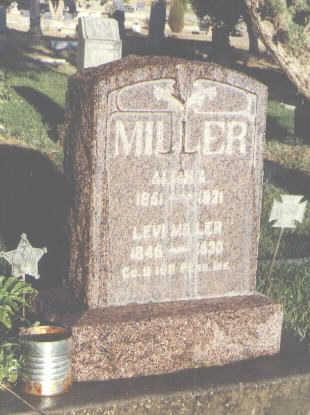 MILLER, LEVI - Delta County, Colorado | LEVI MILLER - Colorado Gravestone Photos