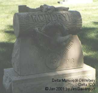 MUNDRY, PIERRE - Delta County, Colorado | PIERRE MUNDRY - Colorado Gravestone Photos