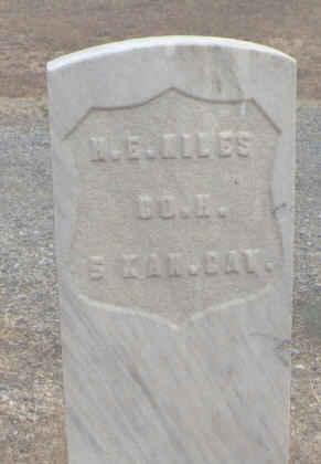 NILES, H. E. - Delta County, Colorado | H. E. NILES - Colorado Gravestone Photos