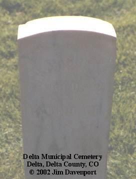 PARCELLS, W. H. - Delta County, Colorado | W. H. PARCELLS - Colorado Gravestone Photos