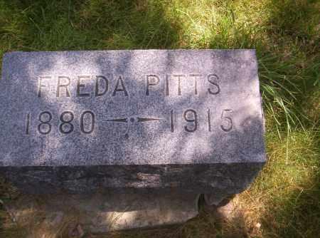 PITTS, FREDA - Delta County, Colorado | FREDA PITTS - Colorado Gravestone Photos
