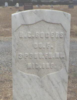 ROGERS, H. G. - Delta County, Colorado | H. G. ROGERS - Colorado Gravestone Photos