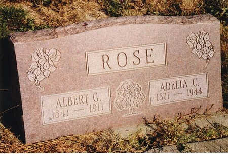 ROSE, ADELIA C. - Delta County, Colorado | ADELIA C. ROSE - Colorado Gravestone Photos